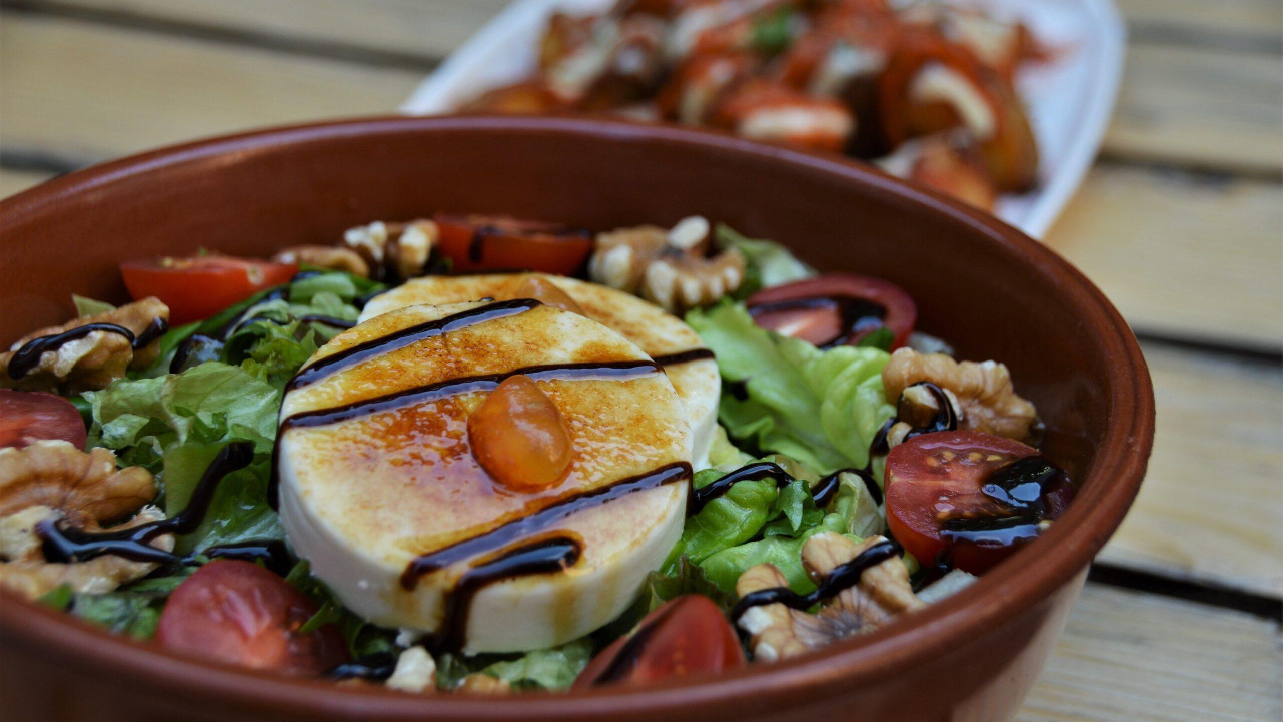 productfoto Geitenkaas salade
